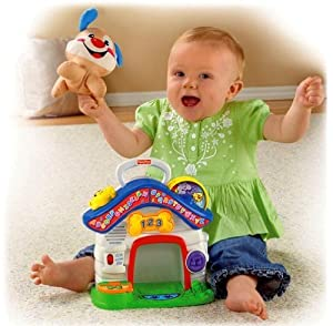 Fisher-Price Fisher Price Laugh & Learn Puppy's Playhouse Learning Toy IN GREEK at Sears.com