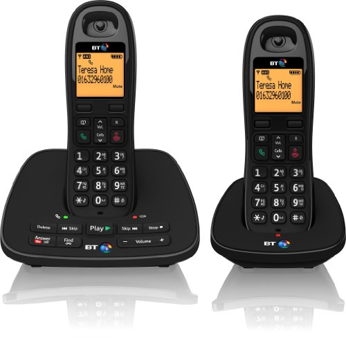 BT 1500 Cordless DECT Phone with Answer Machine (Pack of 2) Reviews