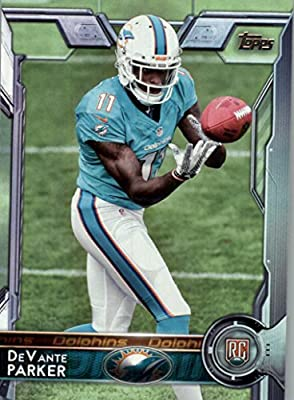 2015 Topps #391A DeVante Parker RC - Miami Dolphins (RC - Rookie Card) (NFL Football Cards)