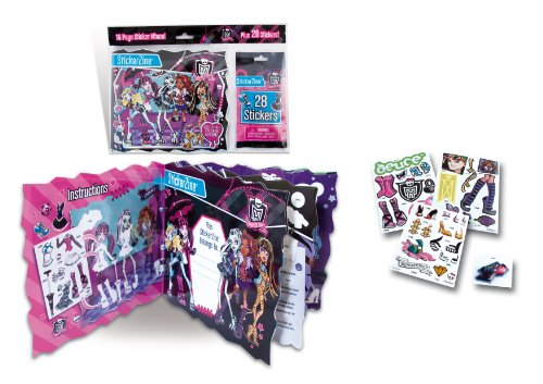 Stickerzine Monster High 16 Page Sticker Album