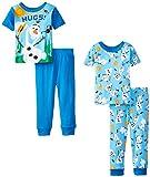 Disney Little Boys' Frozen Olaf Loves Hugs 4 Piece Pajama Set