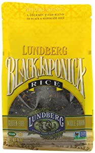 Lundberg Eco-Farmed Gourmet Black Japonica Field Blend Rice, 16-Ounce (Pack of 6)