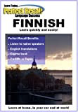 Learn to Speak FINNISH with PERFECT RECALL (2 Cassettes & book)