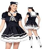 Saucy Sexy Sailor Girl Fancy Dress Costume XL-XXXL