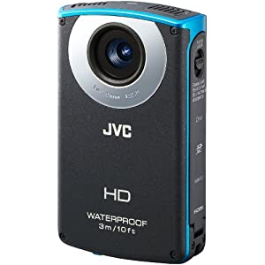 JVC waterproof video camcorder
