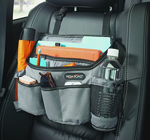 High Road SwingAway Car Seat Organizer (Gray) (Car Organizer Gray compare prices)
