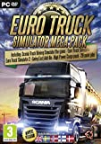 Euro Truck Simulator - Mega Pack (PC DVD) Euro Truck Simulator 1, Euro Truck Simulator 2, Euro Truck Simulator 2 Going East, Euro Truck Simulator 2 - High Power Cargo Pack, Euro Truck Simulator 2 - Halloween Paint Jobs / Ice Cold Paint Jobs / Force Of Na