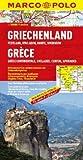 Marco Polo Regionalkarte Griechenland 1 : 300 000: Festland, Kykladen, Korfu, Sporaden - Mairdumont