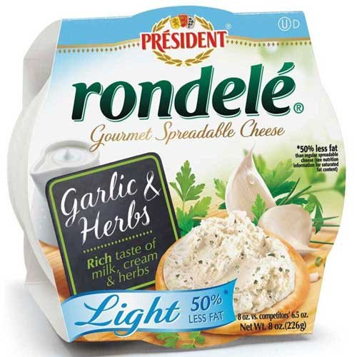 rondele-gourmet-garlic-and-herb-light-cheese-spread-8-ounce-12-per-case