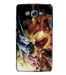 Clarks Printed Designer Back Cover For Samsung Galaxy J7
