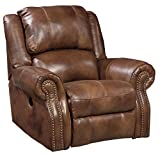 Signature Design by Ashley U7800125 Walworth Collection Recliner, Auburn
