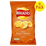 Walkers Roast Chicken Crisps 6x6x25g