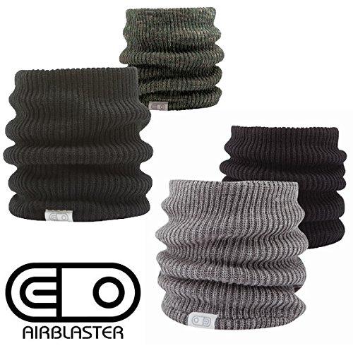 エアブラスター スノーボード ネックウォーマー エアブラスター AIR GATOR エアゲイター 2カラー AIR BLASTER ブラック-カモ