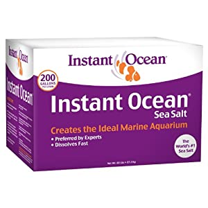 Instant Ocean SS1-200  Sea Salt, 200-Gallon