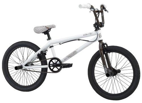 Mongoose Mischief Boy's Freestyle Bike (20-Inch Wheels, White)