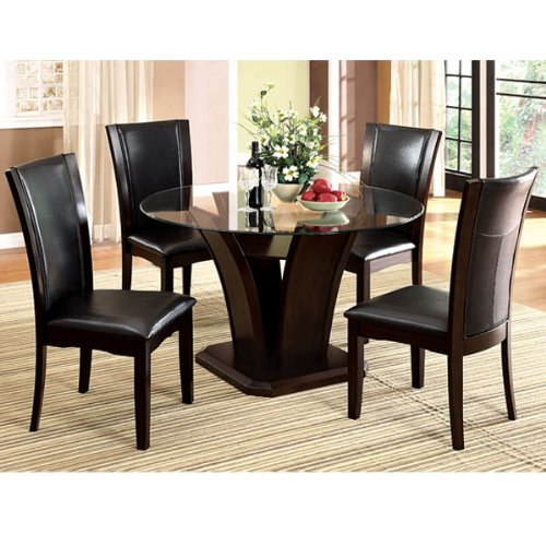 Glass Dining Chairs 5369