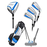 51oEXwbhVHL. SL160  Young Gun PRO BLUE RH Junior golf club set & bag
