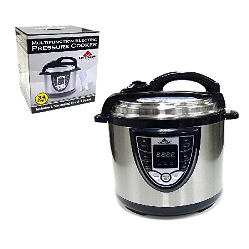 34 Cup 6 in 1 Multi Function Electric Rice / Pressure / Slow / Steamer Cooker