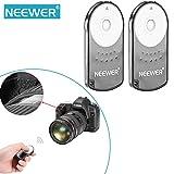 NEEWER® IR Wireless Remote Control RC-6 Shutter Release for Canon EOS T1i/500D / T2i/550D / 5D Mark II / 7D / 60D / T3i / 600D / XSi / 450D/ XSi / 450D / XT / 350D / 300D (2 Pieces)