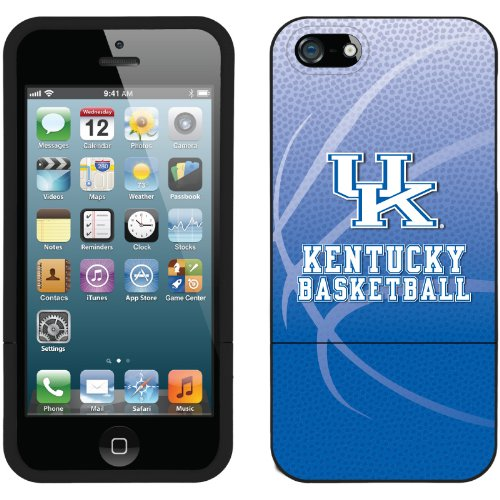 Great Price University of Kentucky Basketball design on a Black iPhone 5s / 5 Slider Case by Coveroo