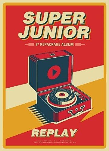 CD : Super Junior - Replay (Asia - Import)