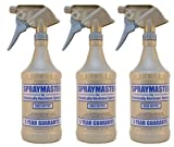 3 Pack 32oz. SprayMaster Heavy Duty Spray Bottles