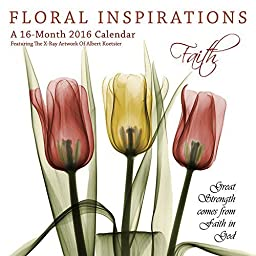 Floral Inspirations 2016 Wall Calendar by 2016 Calendars