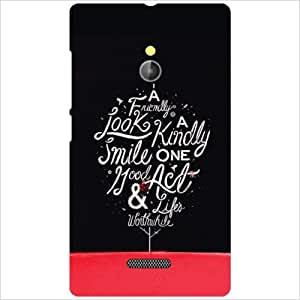 Nokia XL RM-1030/RM-1042 Back Cover ( Designer Printed Hard Case)