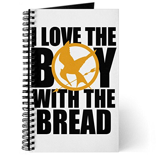 CafePress - I Love the Boy with the Bread Journal - Spiral Bound Journal Notebook, Personal Diary, Lined (Our Daily Bread Spiral Journal compare prices)