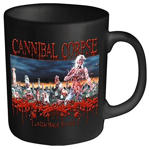 Cannibal Corpse consumata testa in plastica, tazza, colore: nero