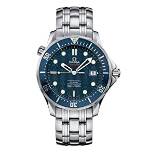 "Omega Men's 2220.80 Seamaster 300M Chrono Diver ""James Bond"" Watch"