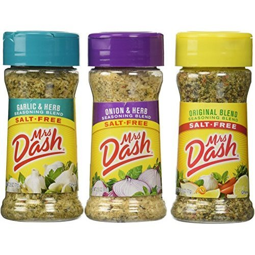 All Natural Seasoning Blends 2.5 oz; Original,Onion&Herb,Garlic&Herb ...