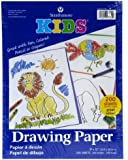 Strathmore Kids Drawing Paper, 200 per pack, 9 x 12 Inches (ST27-119-1)