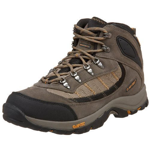 Hi-Tec Men's Natal Mid WP Light Hiking Shoe,Taupe/Taupe/Dijon,15 M