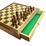 Deluxe Wooden Chess and Draughts Setby ToyPost
