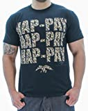 SickFits Mens Hap-Pay Hap-Pay Happy Duck Commander Duck Dynasty T-Shirt