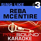Sing Like Reba McEntire v.3 (Karaoke Performance Tracks)