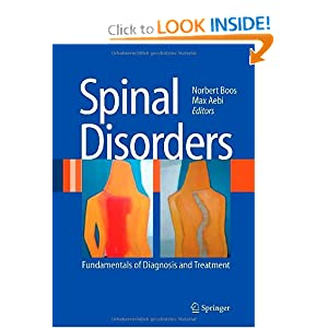 Spinal Disorders - Fundamentals of Diagnosis and Treatment