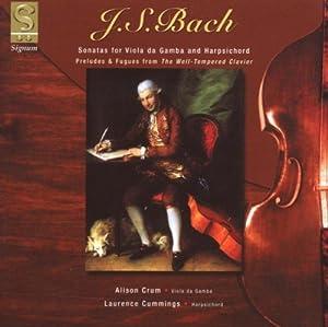 Gambensonaten BWV 1027-1029/Präludien und Fugen BWV 850, BWV 860 & BWV 861