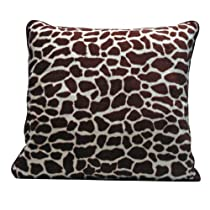 Scene Weaver Journey Decorative Oversized Pillow, Giraffe, 22 by 22-Inch