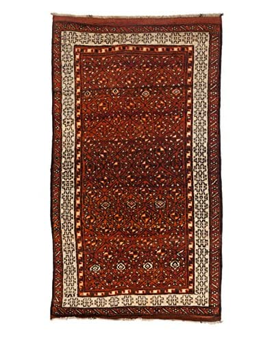 Solo Rugs One-of-a-Kind Tribal Rug, Walnut, 5' 1 x 8' 10