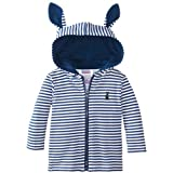 Peter Rabbit: Stripe Bunny Ears Hoodie - Baby Boy