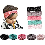 Lovinglove Baby Girls Cotton Turban Headbands