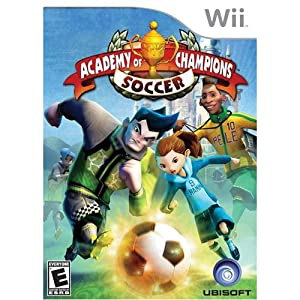 Ubisoft Academy Of Champions Soccer[street Date 09-08-09]