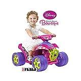 Feber - Quad, vehículo eléctrico, diseño Minnie Mouse Bow-tique (Famosa 800008202)