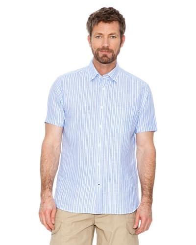 Cortefiel Camicia [Blu/Bianco]