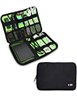 Damai Electronics Accessories Carry On Bag / Cable Organizer / USB Drive Shuttle / Hard Drive Case-Large