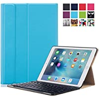 Apple IPad Pro 9.7 Case - ProElite Smart Flip Case Cover For Apple IPad Pro 9.7 [Sleep/Wake] (Blue) [Keyboard...