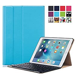 Apple iPad Pro 9.7 Case - ProElite Smart Flip Case cover for Apple iPad Pro 9.7 [Sleep/Wake] (Blue) [Keyboard not included]