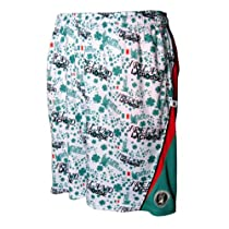 Lacrosse Shorts Lucky Lax Irish Ireland Shamrock Green Orange Size Youth Large